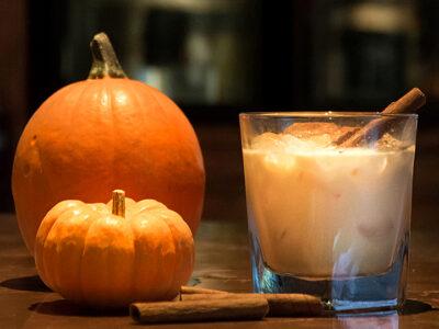 Pumpkin Spice Russian Cocktail
